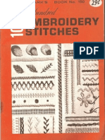 52632244 100 Embroidery Stitches