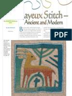 Bayeux Stitch