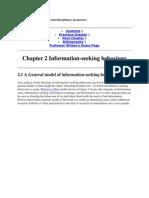 Information Behaviour