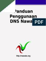 Buku Kecil Manual DNS Nawala Xp 7