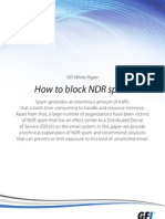 How to Block NDR Spam