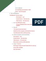 OB  Study Guide Exam 4