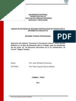 Informe Modular Cesar Guevara