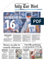 The Daily Tar Heel for March 19, 2012
