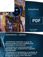 schizofrenia are div stadii de evolutie