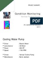Condition Monitoring - Vertical Turbine Pump