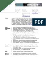 Symantec Profilo Aziendale Settembre 08