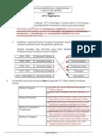 ujian ict tingkatan 4 bersama skema