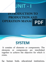 Production Management Lecture Notes