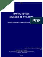 Manual de Tesis
