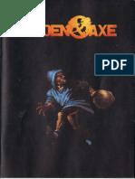 Golden Axe - Booklet