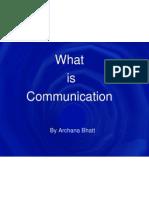 Communication Part I