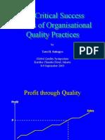 Global Quality Symposium