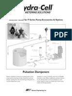 Pulsation Dampeners