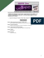 GBPPR 'Zine - Issue #95