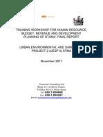 Legal Training Report 1- Nov 2011