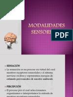 Modalidades sensoriales