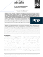 (ES) Continuous Improvement and Organizational Learning - Multiple Cases in Automotive Industry Companies