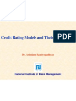 Credit Rating Models 4 Banks