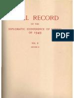 Geneva Conventions 1949 - Travaux préparatoires - Final Record Volume II part B