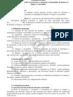 Procedura data Proiectare Stingere
