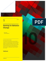 Method 10x10 Gaming for Behavior Change