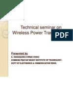 Wireless Power Tran Ppt