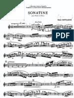 dutilleux sonatine-fl[1]