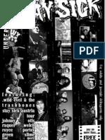 STAY SICK fanzine issue 9