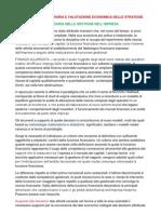 Cap 8 Funzione Finanziaria e Valutazione Economica Delle Strategie