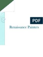 Renaissance Painters Power Point