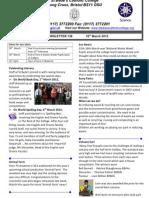 Newsletter 138 - 16.03.12