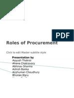 Roles of Procurement_FINAL