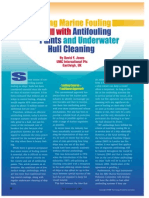 Controlling Marine Fouling With Anti Fouling Paints and Underwater Hull Cleaning