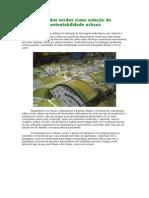 Telhados verdes como solução de sustentabilidade urbana
