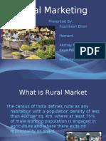 Rural Marketing Final Presentation 5