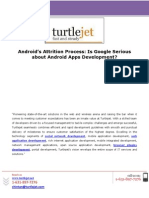 Androids Attrition Process is Google Serious About Android Apps Development