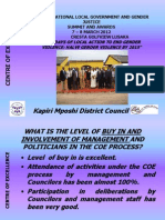 Zambia Kapiri Mposhi District Council COE