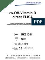_107_uk51081 Ifu 25oh-Direct Elisa