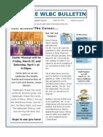 e Newsletter 3 18 12