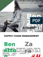Zara , Benetton SCM Ppt