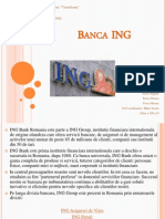 Proiect Economie Banca ING