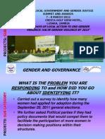Rebecca Museteka Zambia National Women's Lobby