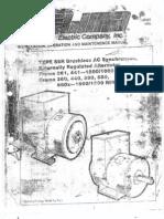 Lima Manual Type Ser Brushless Ac r Frame 361,441,360,440,580,680,680x