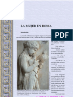 Mujer en Roma