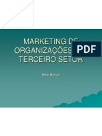 marketing não lucrativas