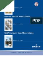 Emerson Motors Catalogue