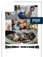 Term Paper- strret children victim of social evils