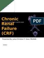 Chronic Kidney Disease - SISON, JULIUS