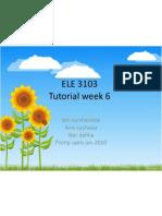 ELE 3103-tuto 6